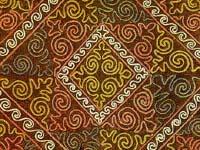 Орнаменты и узоры казахские