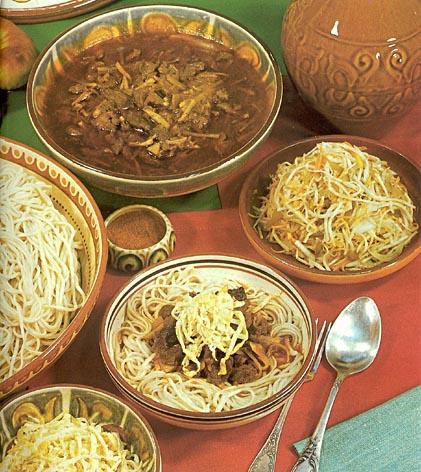 Блюда киргизской кухни сами